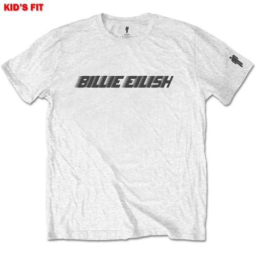 Tricou Copil Billie Eilish Black Racer Logo