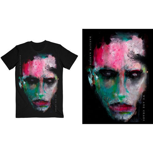 Tricou Marilyn Manson We Are Chaos Cover
