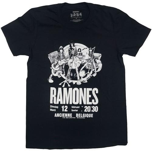 Tricou Ramones Belgique