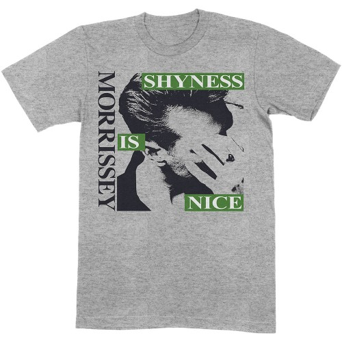 Tricou Morrissey Shyness Is Nice