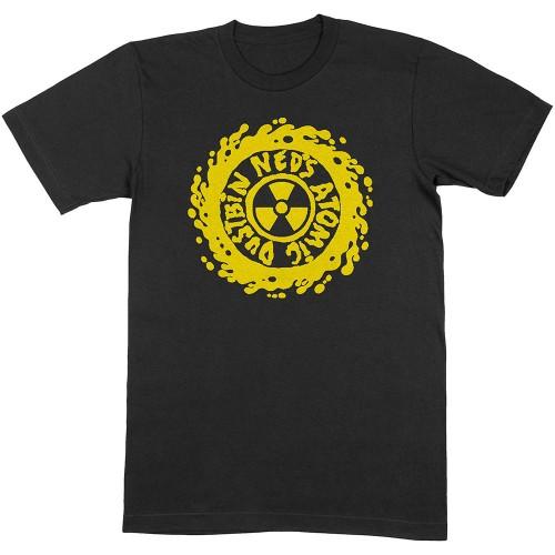 Tricou Ned's Atomic Dustbin Yellow Classic Logo