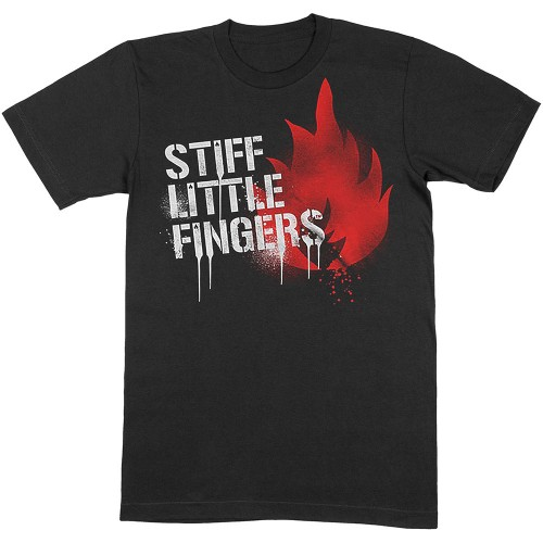 Tricou Stiff Little Fingers Graffiti