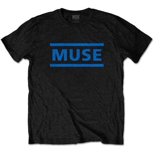 Tricou Muse Dark Blue Logo