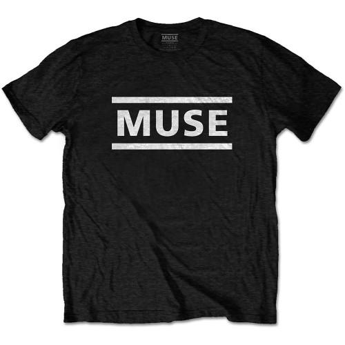 Tricou Muse White Logo