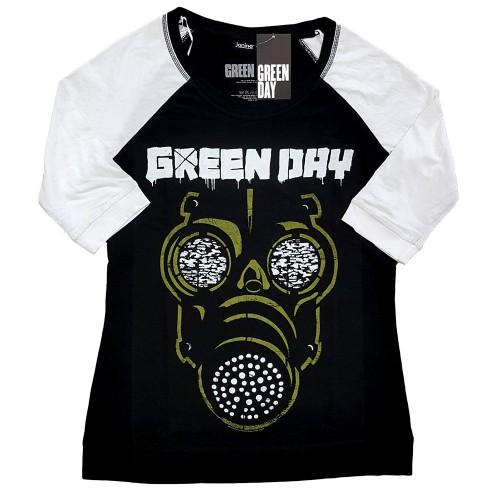 Tricou Dama cu Maneca 3/4 Green Day Green Mask
