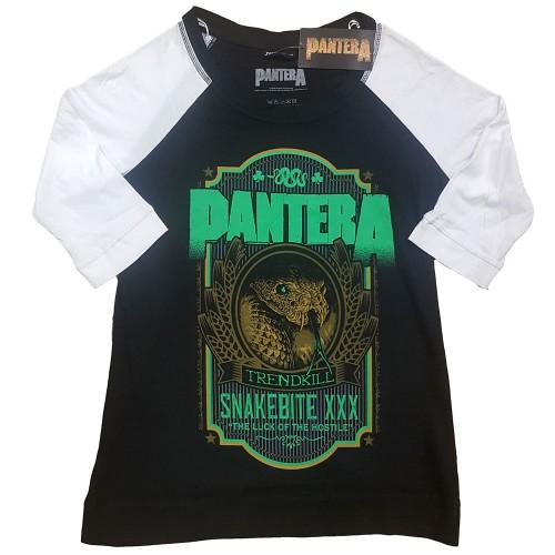Tricou Dama cu Maneca 3/4 Pantera Snakebit XXX Label
