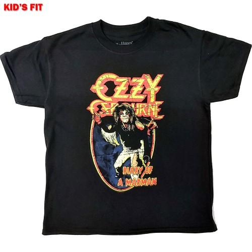 Tricou Copil Ozzy Osbourne Vintage Diary of a Madman