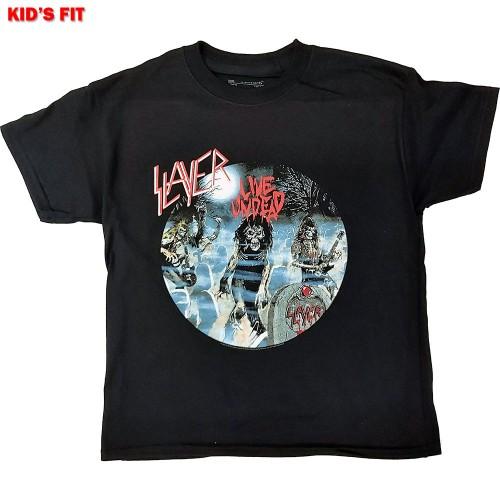 Tricou Copil Slayer Live Undead