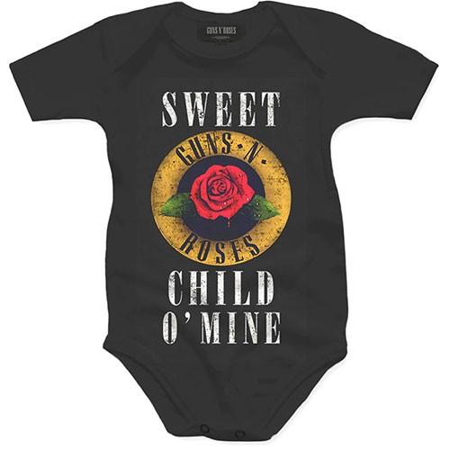 Body Bebelus Guns N' Roses Child O' Mine Rose