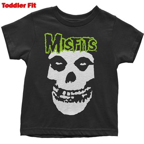 Tricou Copil Misfits Skull & Logo