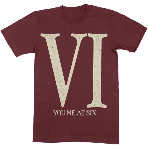 Tricou You Me At Six Roman VI