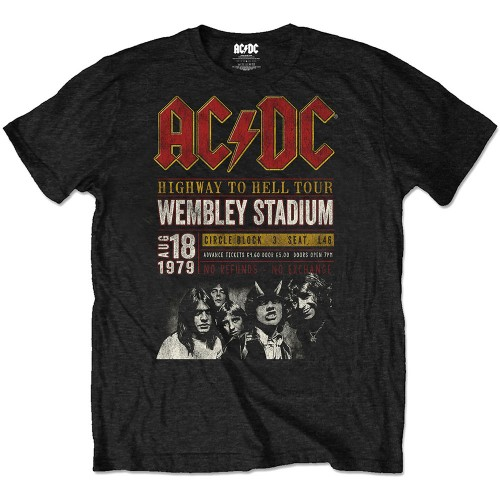 Tricou Eco AC/DC Wembley '79