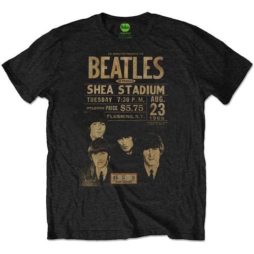 Tricou Eco The Beatles Shea '66