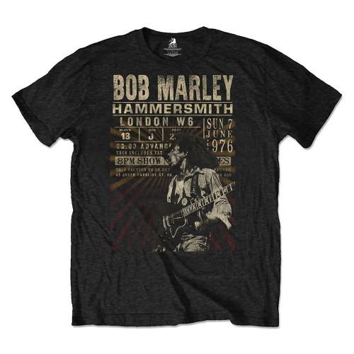 Tricou Eco Bob Marley Hammersmith '76