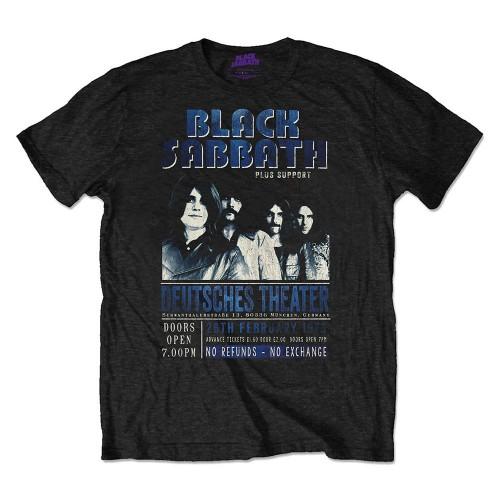 Tricou Eco Black Sabbath Deutsches '73