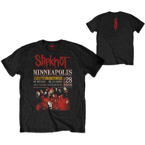 Tricou Eco Slipknot Minneapolis '09