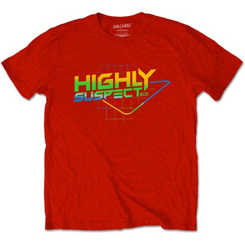 Tricou Highly Suspect Gradient Type