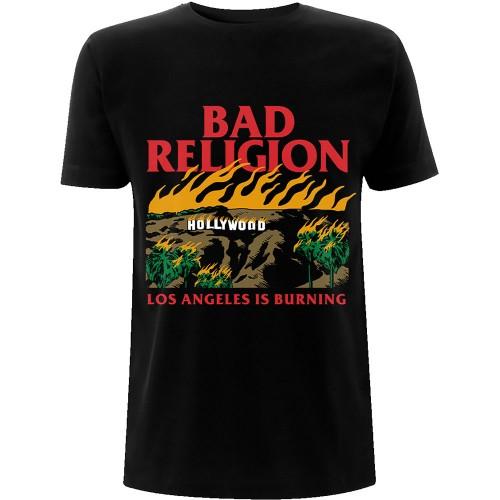 Tricou Bad Religion Burning Black