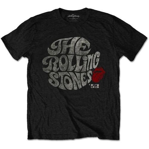 Tricou Eco The Rolling Stones Swirl Logo '82
