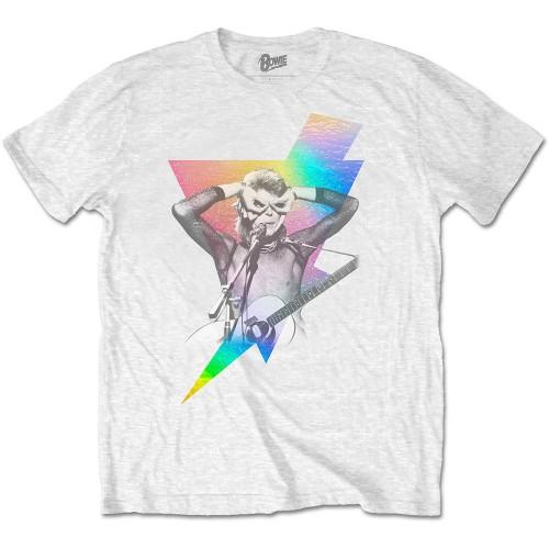 Tricou David Bowie Holographic Bolt