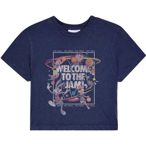 Tricou Dama Space Jam 2 Welcome To The Jam