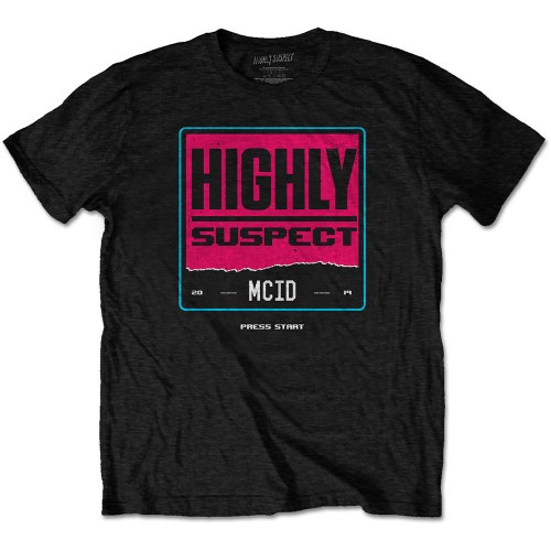 Tricou Highly Suspect Press Start