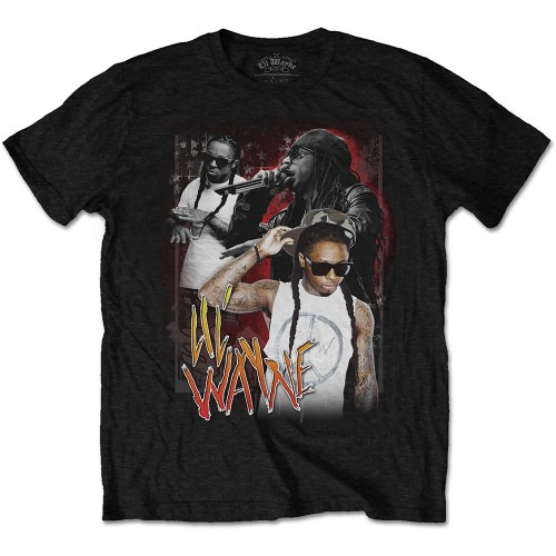 Tricou Lil Wayne 90s Homage