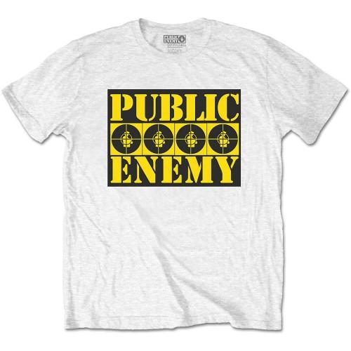 Tricou Public Enemy Four Logos