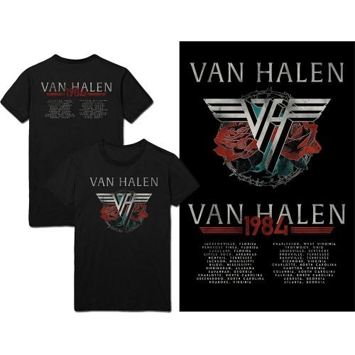 Tricou Van Halen 84 Tour