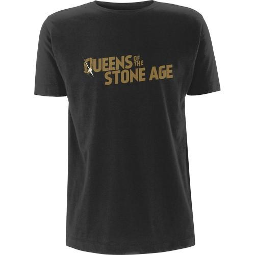Tricou Queen s Of The Stone AgeMetallic Text Logo