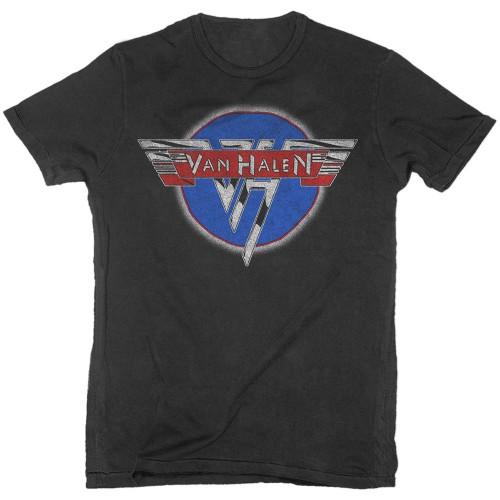 Tricou Van Halen Chrome Logo