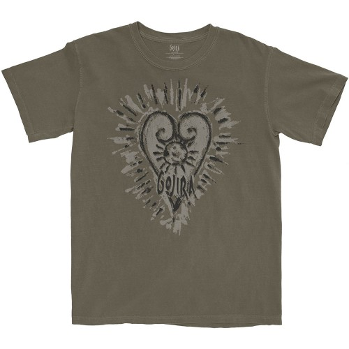 Tricou Gojira Fortitude Heart