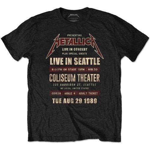 Tricou Eco Metallica Seattle '89