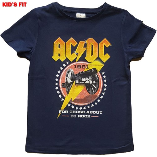 Tricou Copil AC/DC For Those About To Rock '81