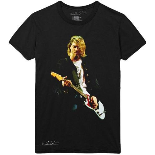 Tricou Kurt Cobain Guitar Photo Colour