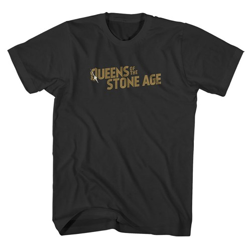 Tricou Queen s Of The Stone AgeBullet Shot Logo