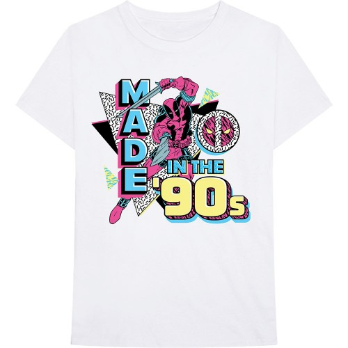 Tricou Marvel Comics Deadpool Made In The 90s