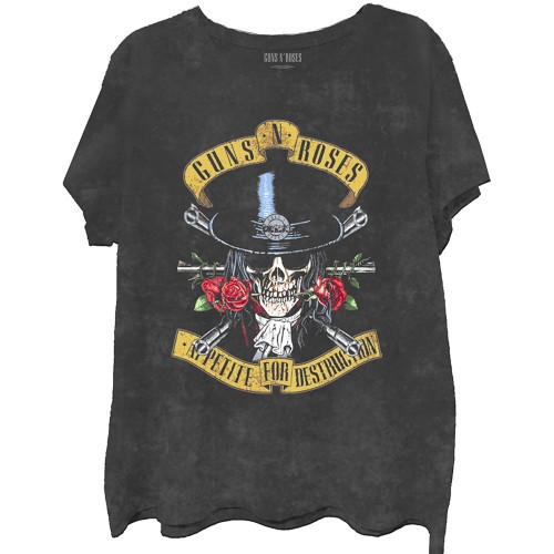 Tricou Guns N' Roses Appetite Washed