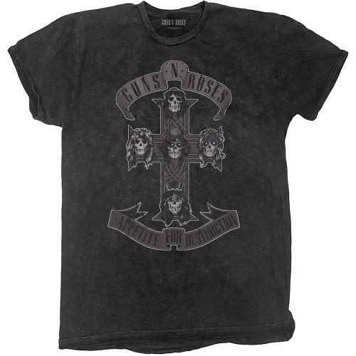 Tricou Guns N' Roses Monochrome Cross