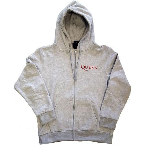 Hanorac cu fermoar Queen Classic Crest