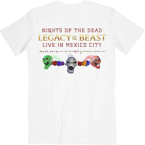 Tricou Unisex Iron Maiden: Legacy of the Beast Live In Mexico City