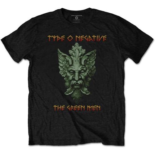 Tricou Unisex Type O Negative: Green Man