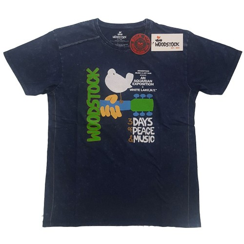 Tricou Woodstock Poster