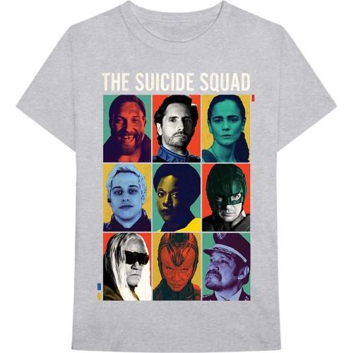Tricou The Suicide Squad 9 Squares