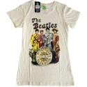 Tricou Damă The Beatles Sgt Pepper Band & Drum