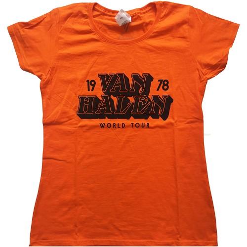 Tricou Dama Van Halen World Tour '78