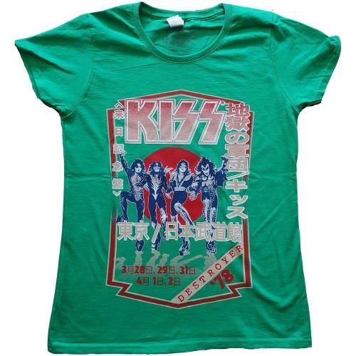 Tricou Dama KISS Destroyer Tour '78
