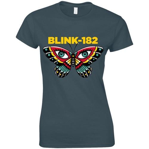 Tricou Dama Blink-182 Butterfly