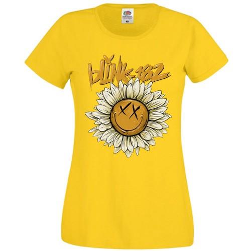 Tricou Dama Blink-182 Sunflower