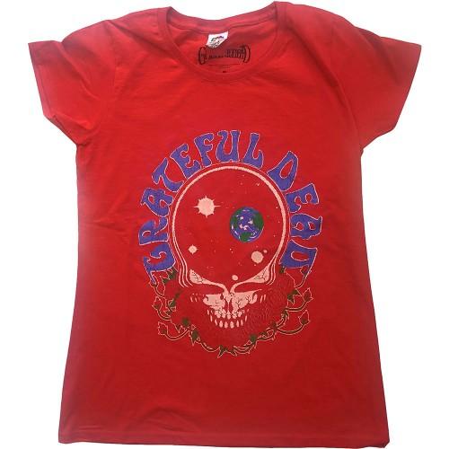 Tricou Dama Grateful Dead Space Your Face & Logo